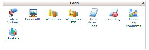 Awstats in Cpanel logs