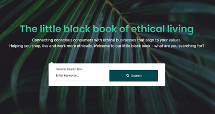 The little black book of ethical living