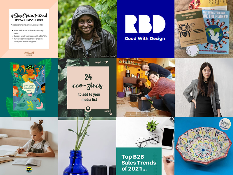 PIctures of the 12 clients and their products featured in the 'Clients doing amazing things part 3' article